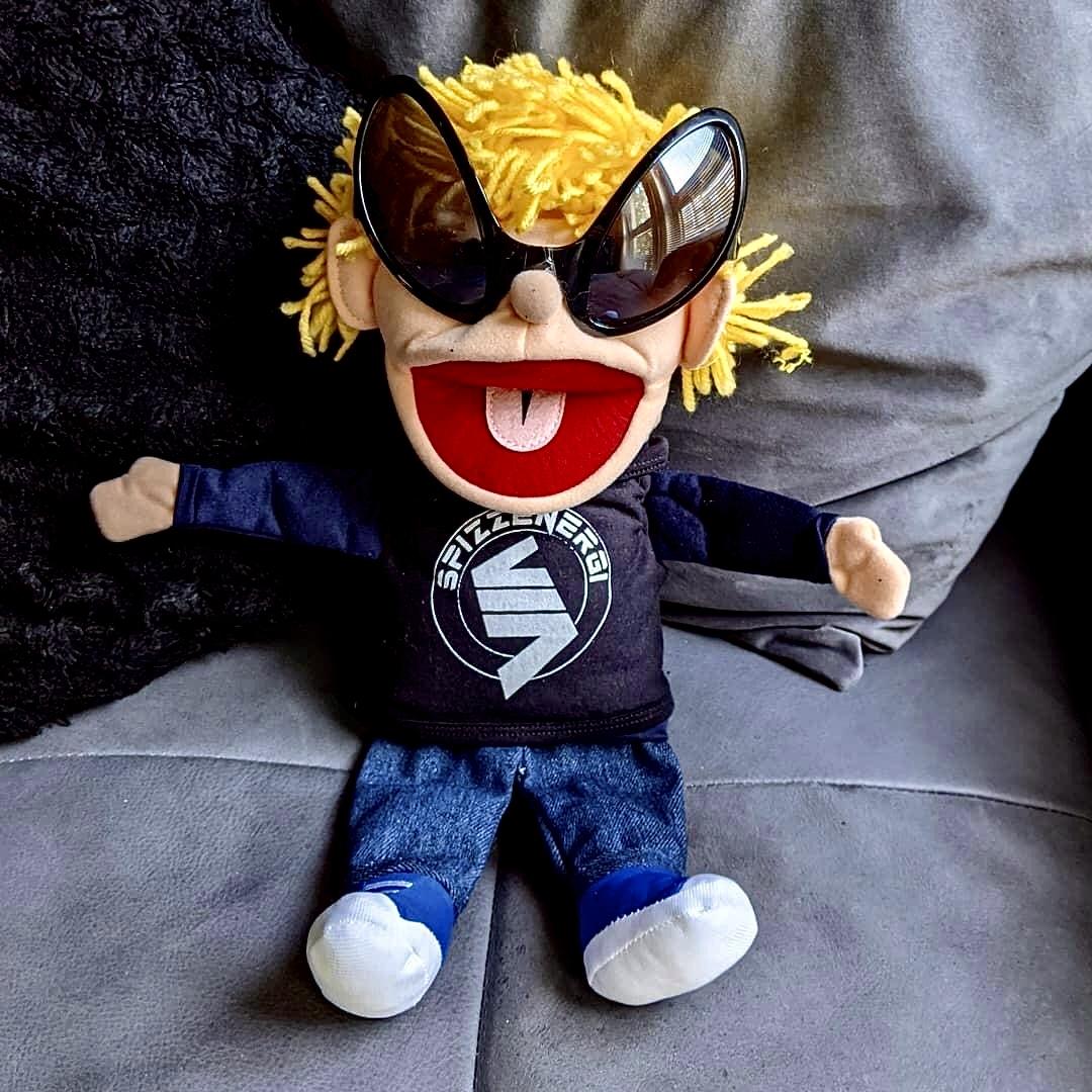 SpizzJnr Custom Companion Puppet