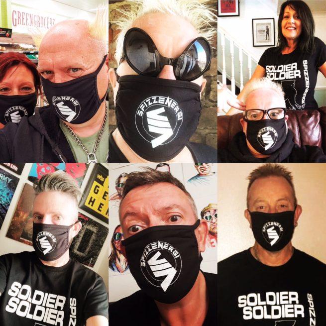 Spizzenergi face mask