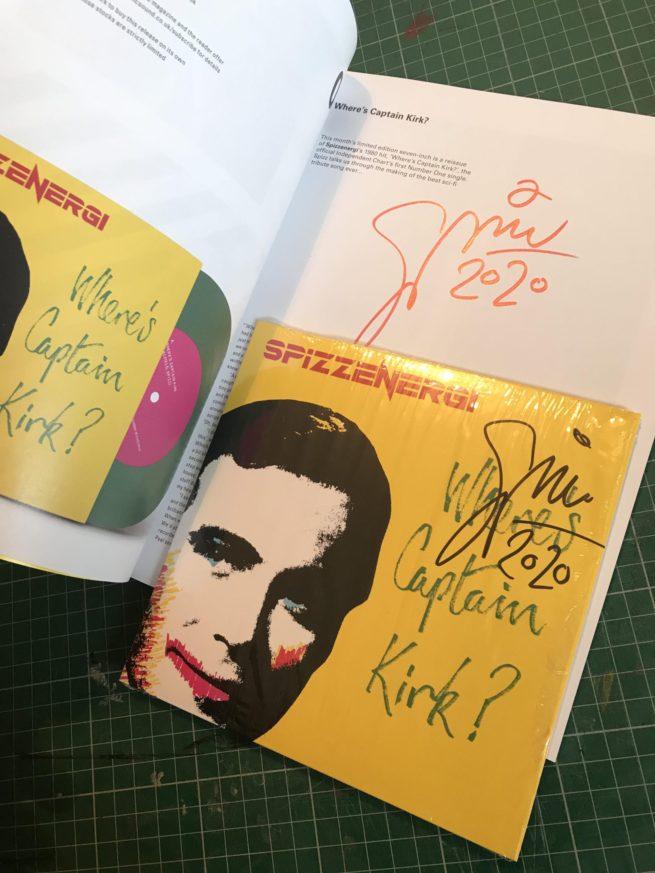 Vinyl and Magazine